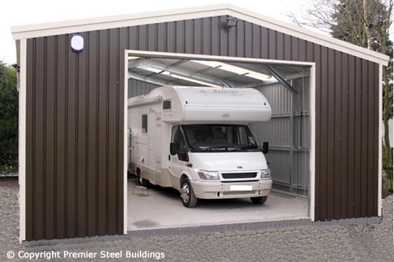 premier steel buildings large garage camper van custom garage with sleepout single double amp large kitsets ideal