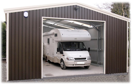 prices motorhome garage