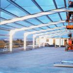 steel shed framework